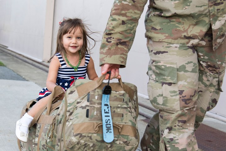 Returning from deployment